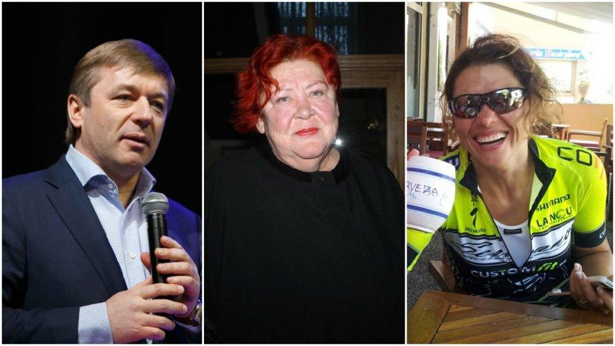 Ramūnas Karbauskis, Regina Šaltinienė ir Lina Karbauskienė