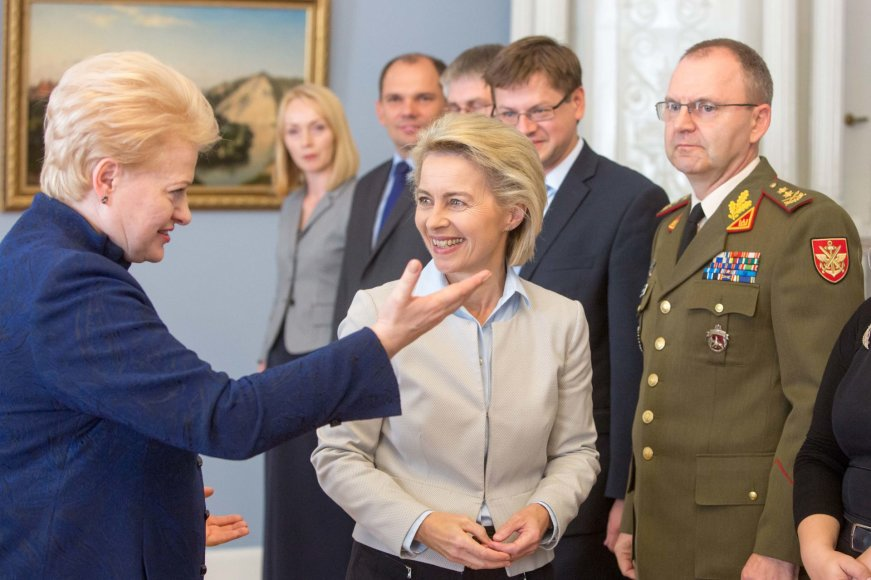 Dalia Grybauskaitė ir Ursula von der Leyen