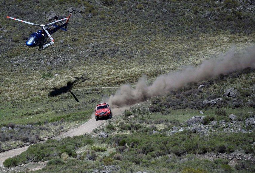 Pirmasis Dakaro ralio greičio ruožas