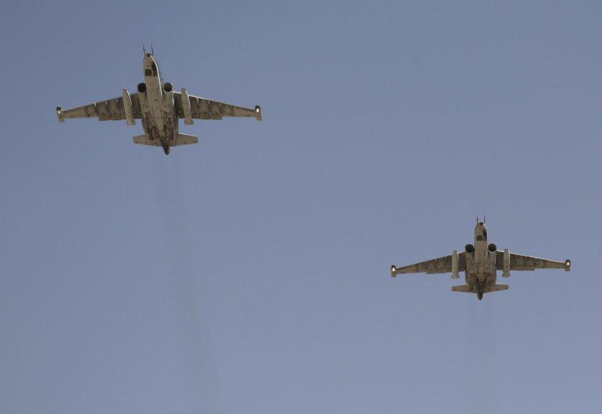Rusijos lėktuvai