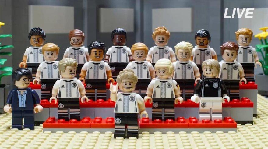 LEGO Vokietijos futbolo rinktinė
