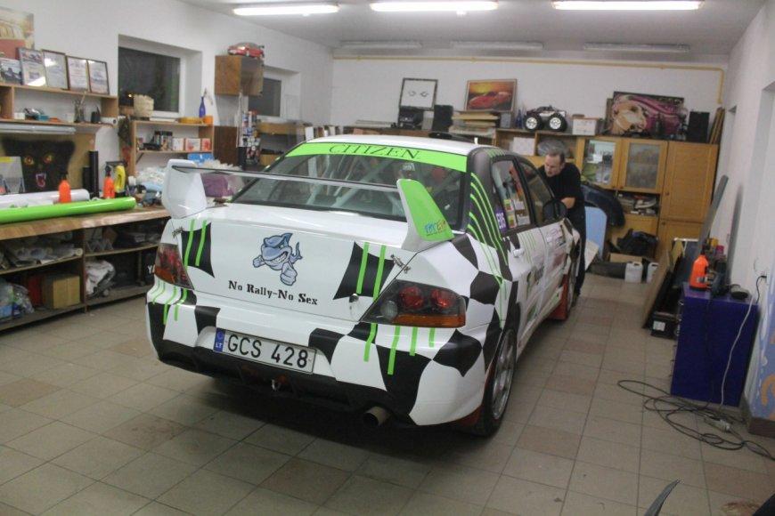 "G.Notkaus ""Mitsubishi Lancer EVO IX"""