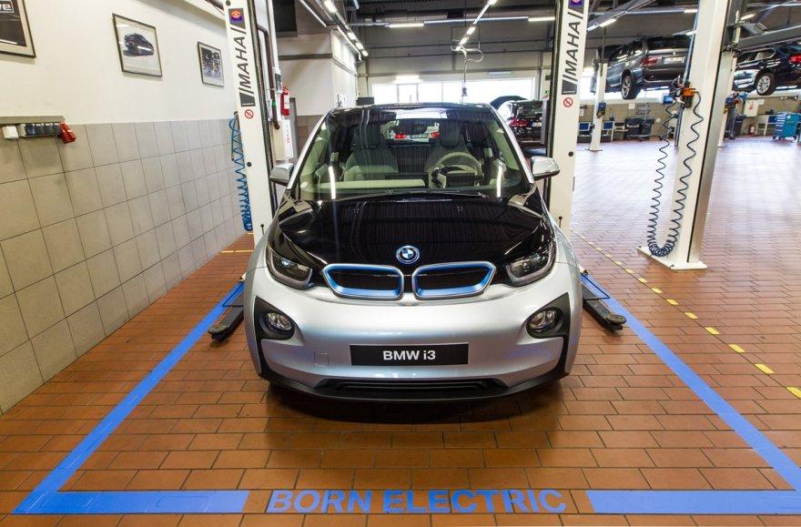 BMW i servisas Vilniuje