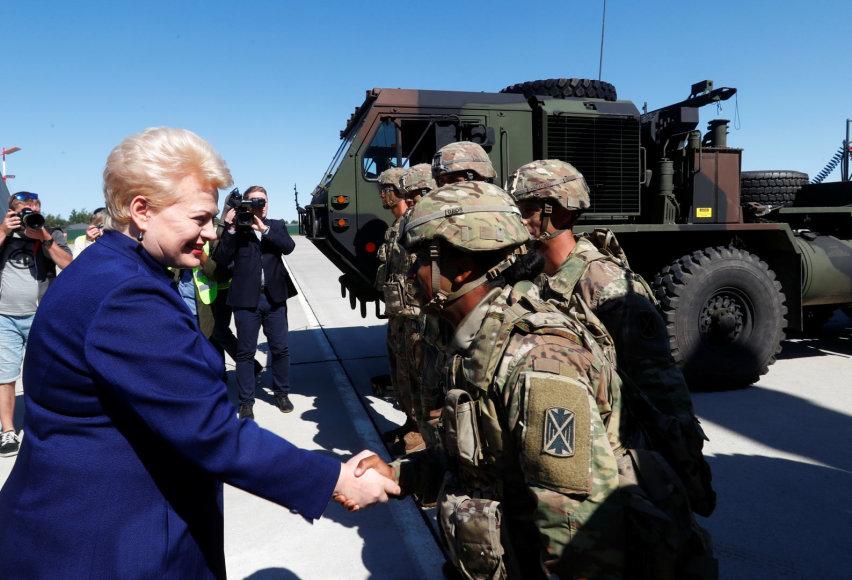 Dalia Grybauskaitė Estijoje