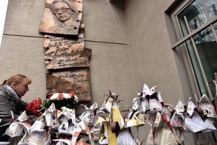 Akcija Anai Politkovskajai atminti