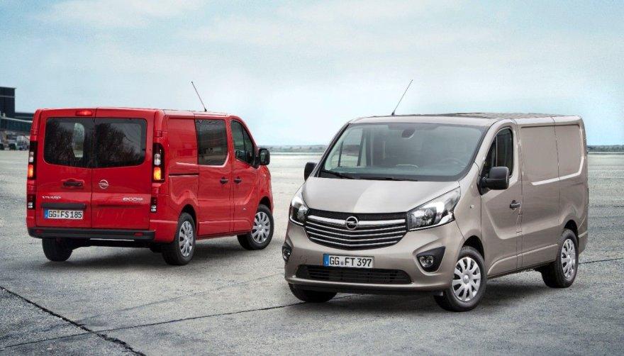"""Naujasis """"Opel Vivaro"""""""