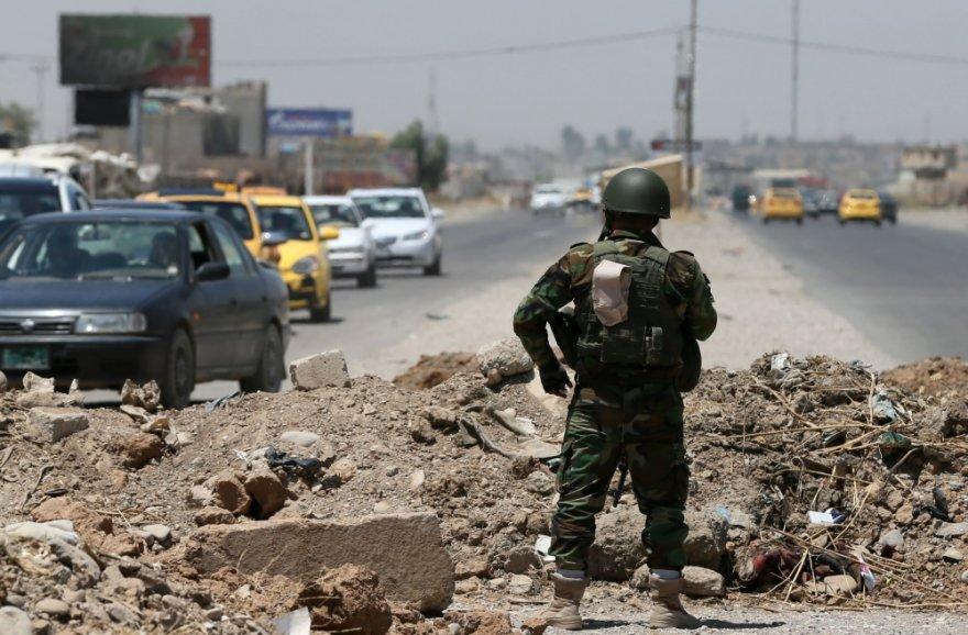 Džihadistų kovotojas Irake