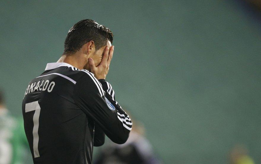 """Madrido """"Real"""" ir Cristiano Ronaldo UEFA čempionų lygos mače"""