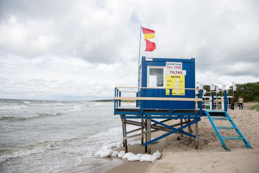 Bangos plauna Palangos paplūdimį