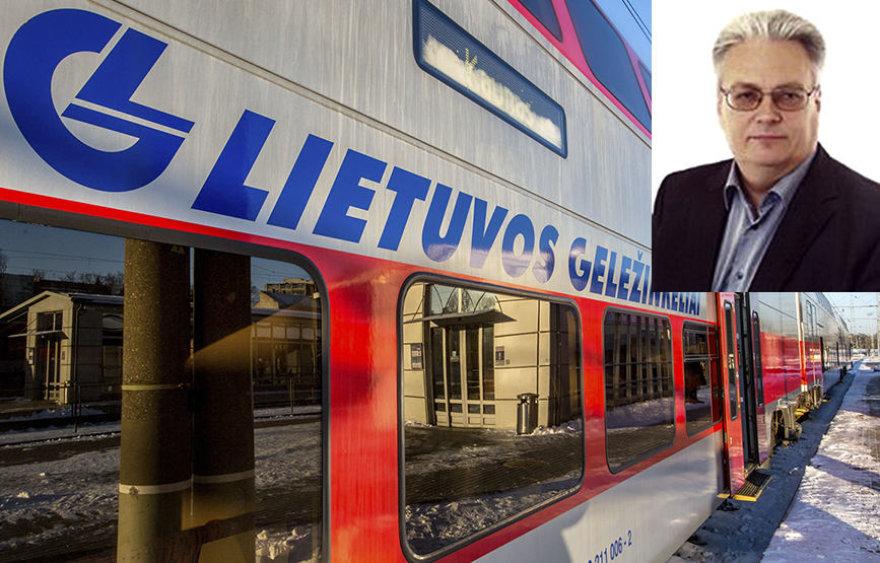 """Valerijus Ponomariovas užėmė svarbias pareigas """"Lietuvos geležinkelių"""" struktūroje"""