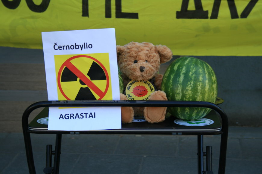 Akcija prie Baltarusijos ambasados 2014 04 26