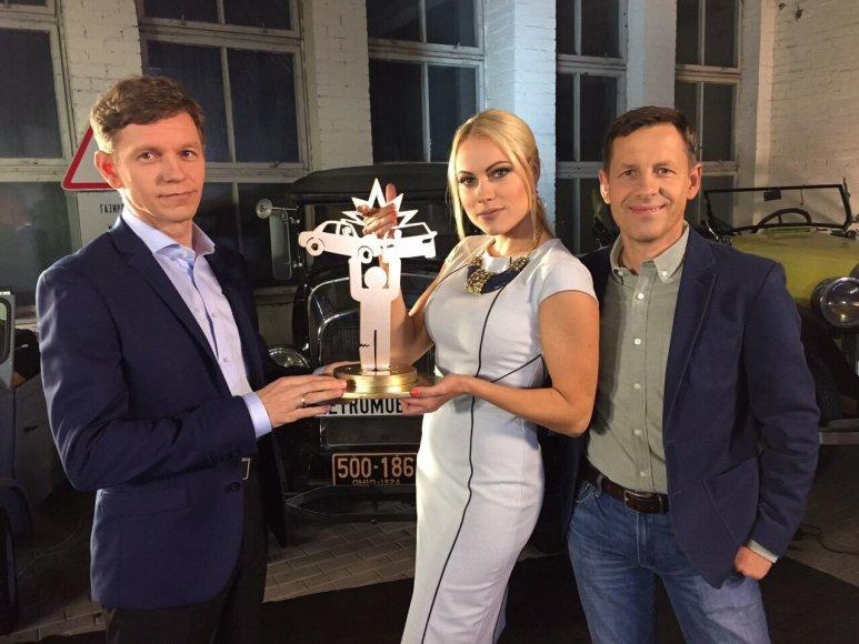 Vigilijus Sadauskas, Nijolė Pareigytė-Rukaitienė ir Darius Jonušis