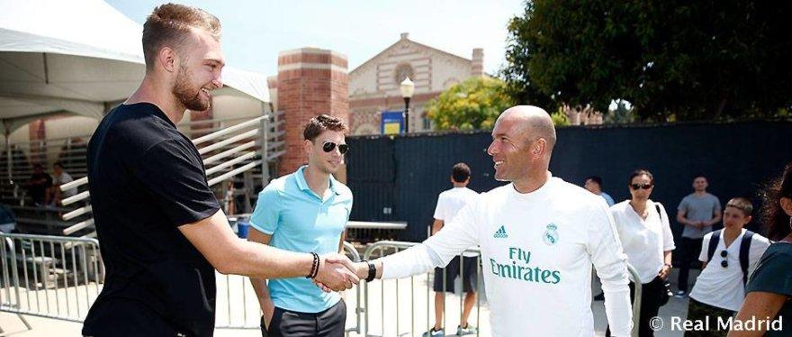 Domantas Sabonis ir Zinedine'as Zidane'as
