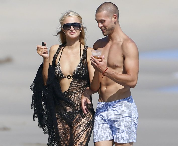 Paris Hilton ir Joshas Upshaw