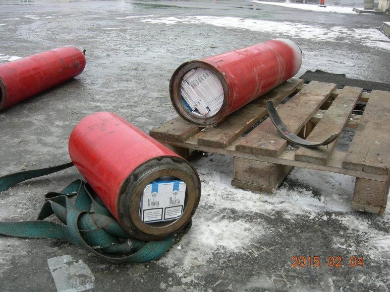Baltarusio vežta kontrabanda