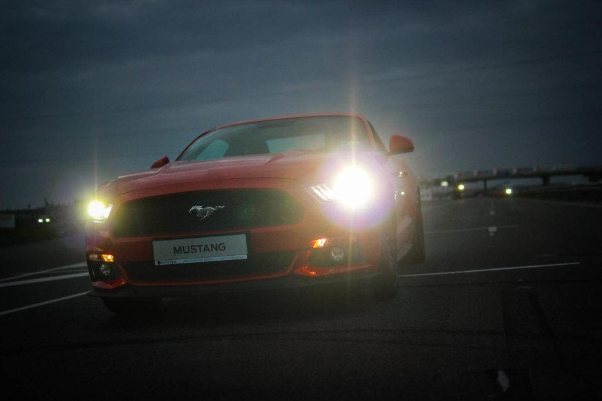 """Ekonomiškas """"Ford Mustang"""" važiavimas """"ENEOS 1006km lenktynių"""" trasoje"""