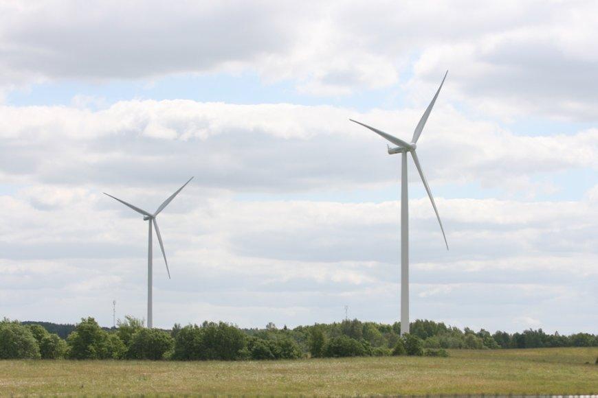 Vėjo jėgainių parkas Šilalės rajone