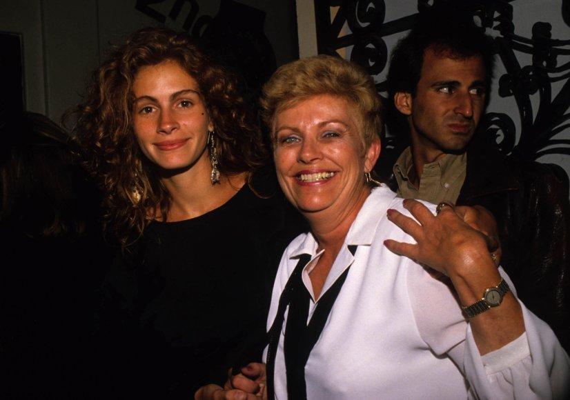 Julia Roberts su mama Betty