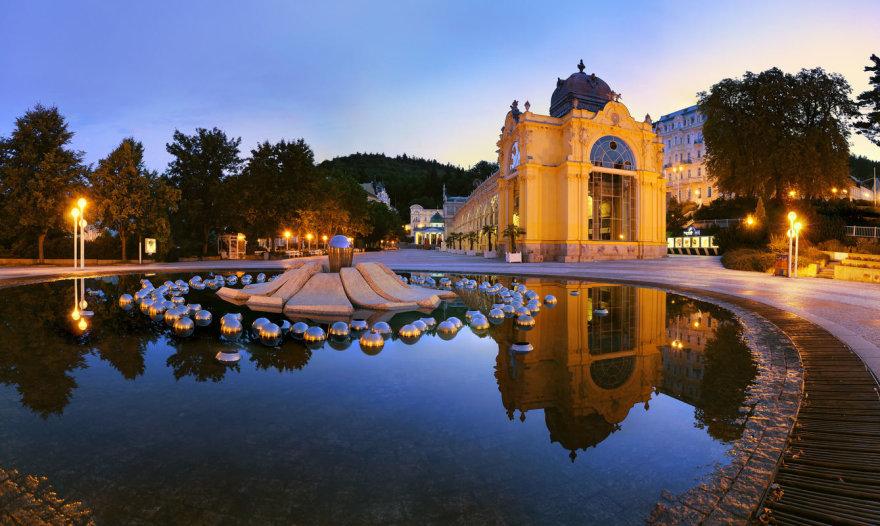 Marianske Laznės miestas Čekijoje