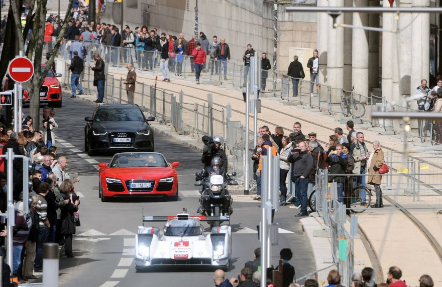 """Audi R18 E-Tron Quattro"" Le Mane"