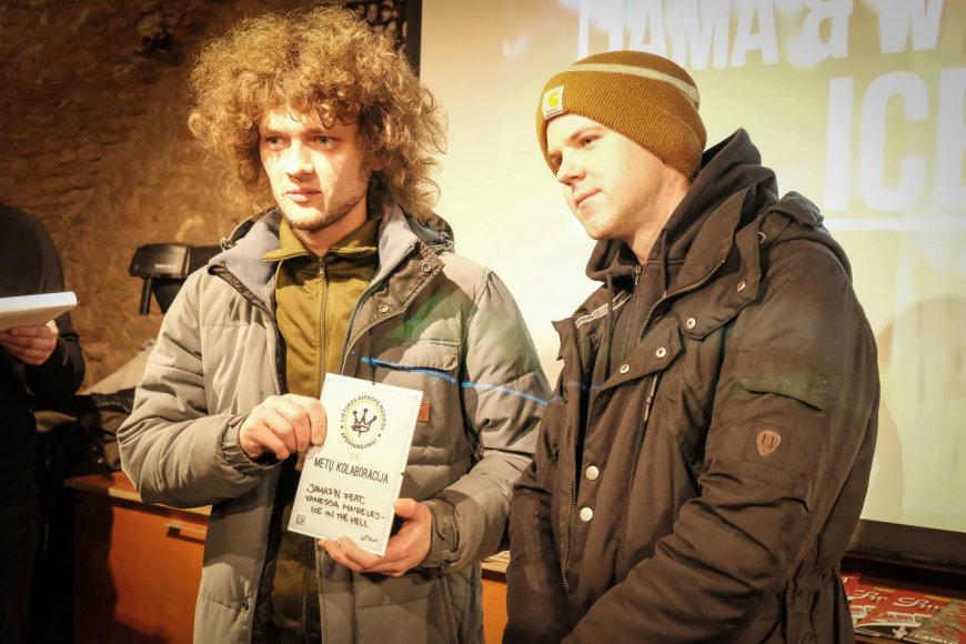 Lietuvos hiphopo muzikos apdovanojimų nominantų paskelbimo ceremonija