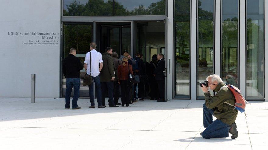 Miunchene atidarytas seniai planuotas nacių istorijos muziejus.