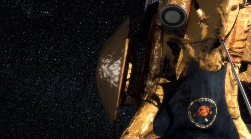 """""""Huygens"""" modulis atsiskiria nuo """"Cassini"""" zondo"""