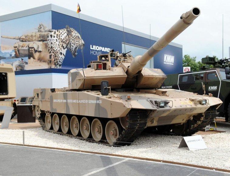 Tankas Leopard 2 A7