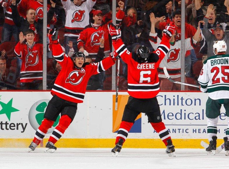 """""""Devils"""" šventė pergalę"""