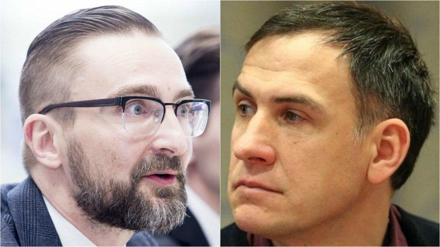 Edvinas Eimontas ir Vytautas Vaškūnas