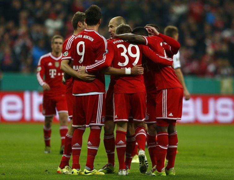 """Bayern"" futbolininkai"