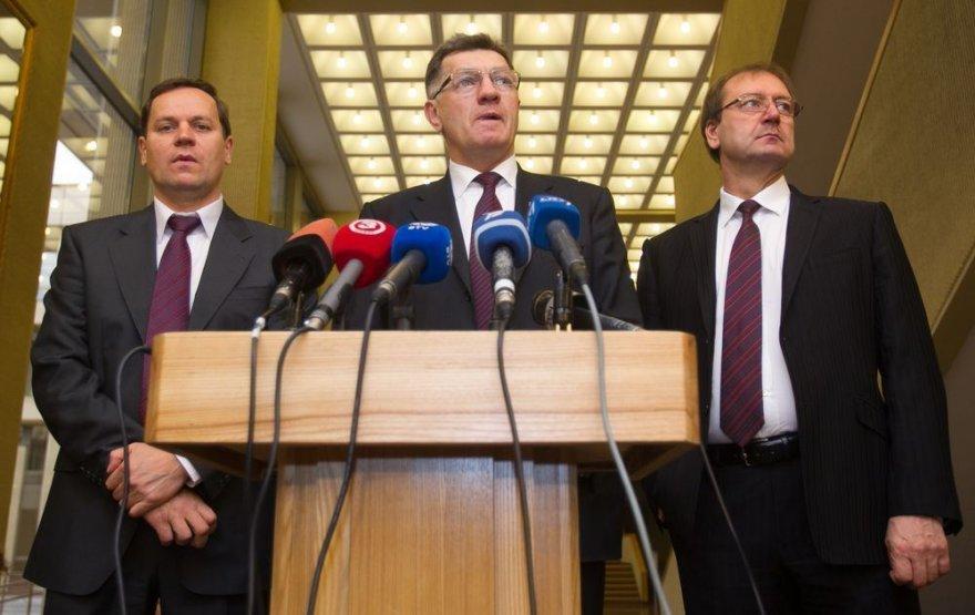 Valdemaras Tomaševskis, Algirdas Butkevičius ir Viktoras Uspaskichas