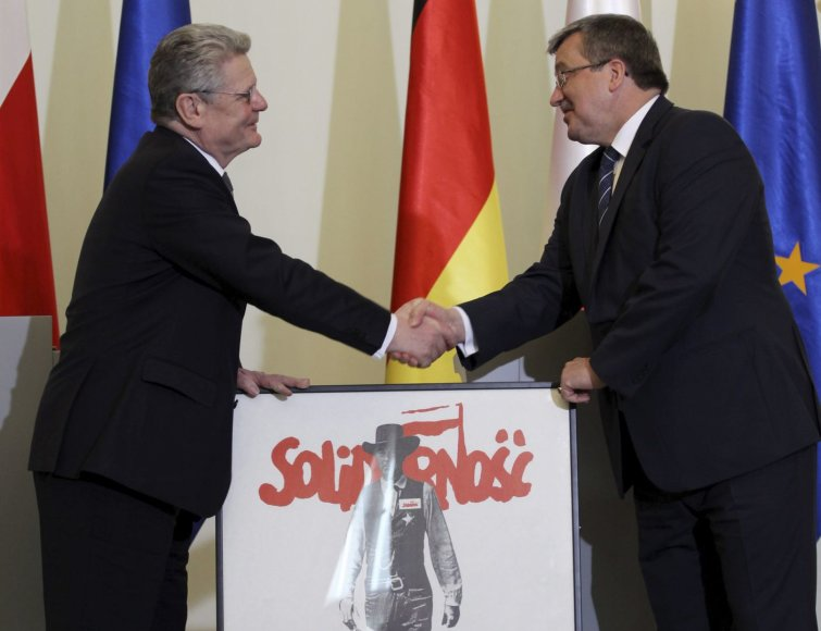 B.Komorwoskis ir J.Gauckas