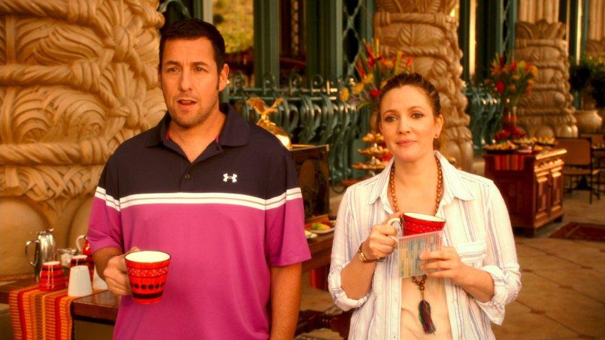 """Drew Barrymore ir Adamas Sandleris komedijoje """"Kartu ne savo noru"""""""