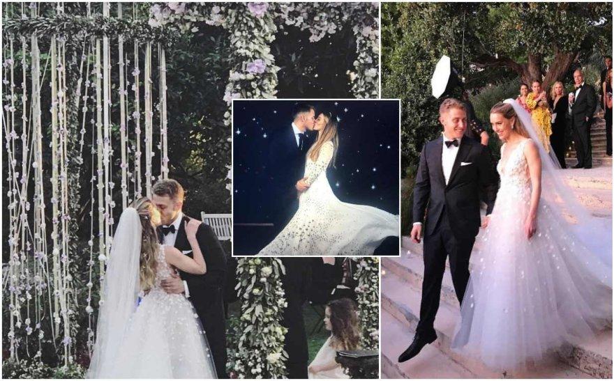 Rachel Crane ir Andrew Markso vestuvės