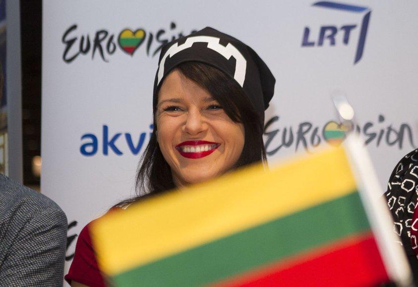 """Vilijos Matačiūnaitės išlydėtuvės į """"Euroviziją"""""""