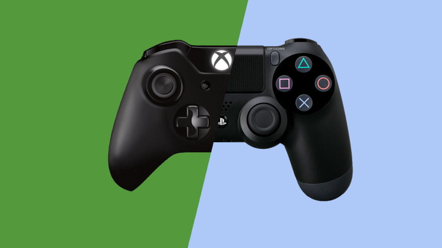 Xbox One Prieš PS4