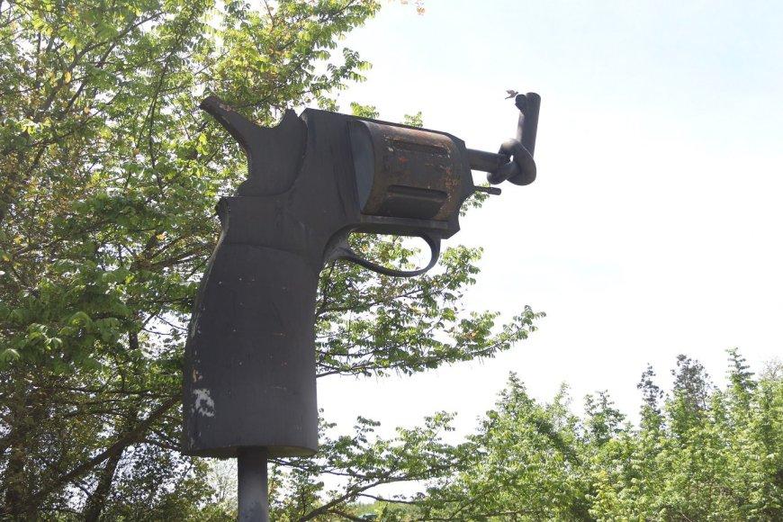Šis ginklas yra Gruzijos teritorijoje. Jis nukreiptas į Abchaziją