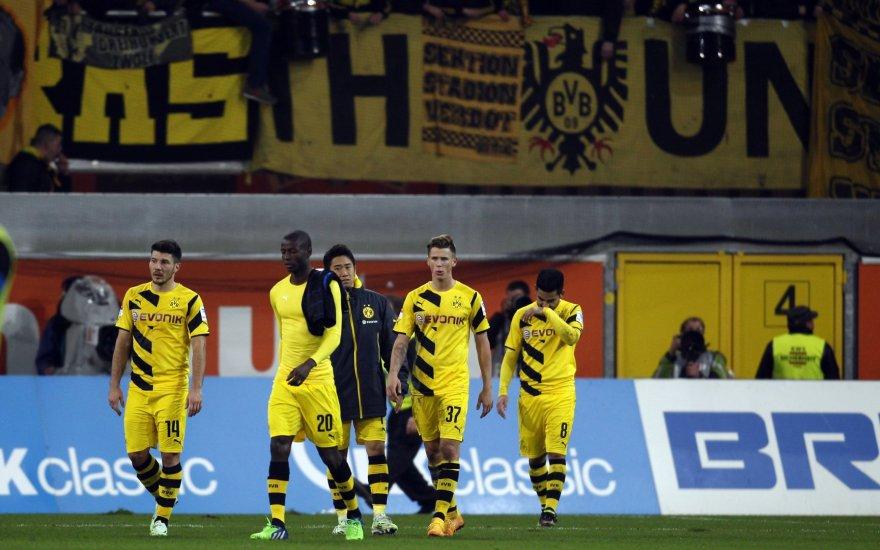 """""""Borussia"""" ir vėl nuvylė savo sirgalius"""