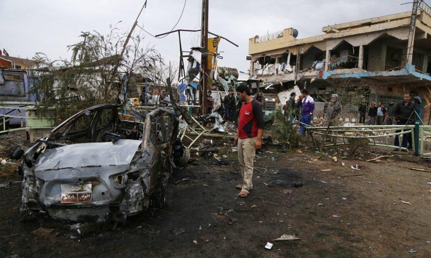 Bombos sprogimo padariniai Bagdade