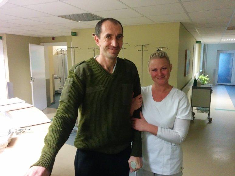 Andrejus du mėnesius praleido Vilniaus universitetinėje ligoninėje.