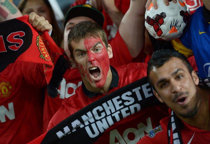 """Manchester United"" sirgaliai"
