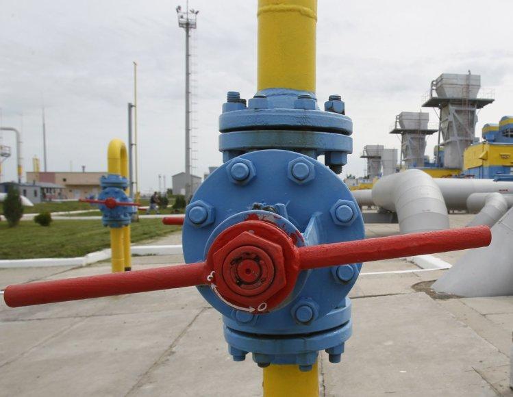 Dujų saugyklos Ukrainoje pilnos.
