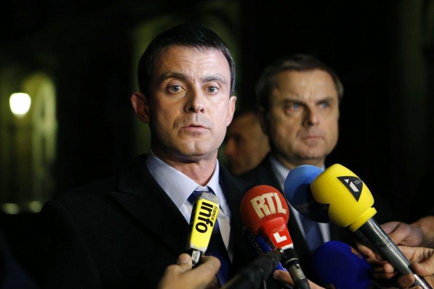 Prancūzijos vidaus reikalų ministras Manuelis Vallsas