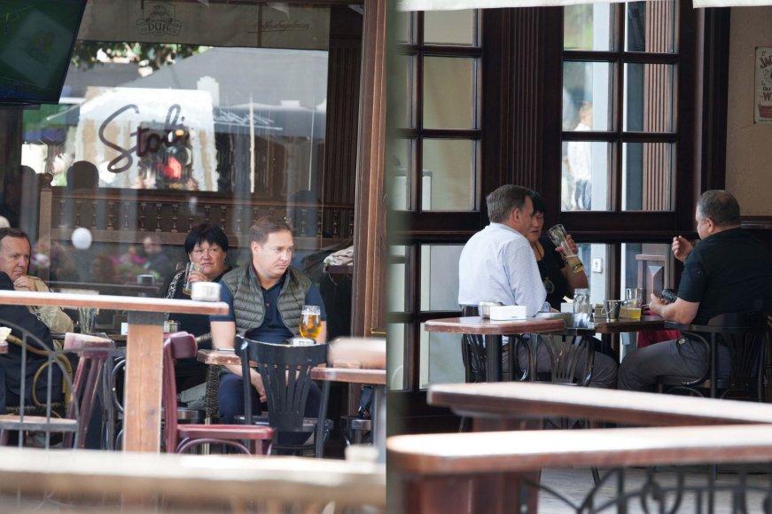 Darbo metu galimai alkoholį vartojantys teisėjai