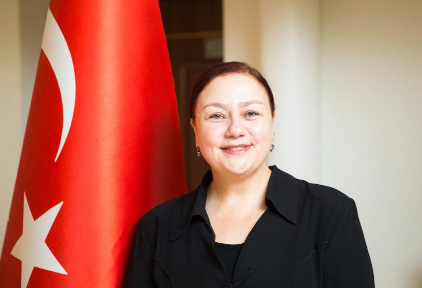 Turkijos ambasadorė Aydan Yamancan