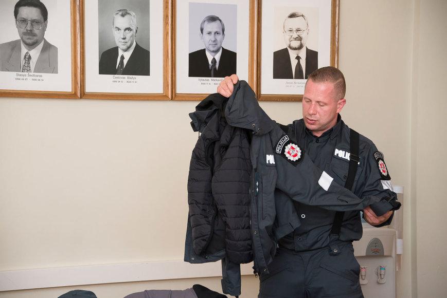 Naujo pavyzdžio uniformų pristatymas