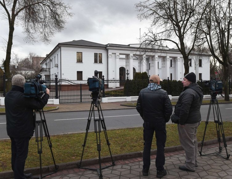 A.Lukašenkos rezidencija Minske