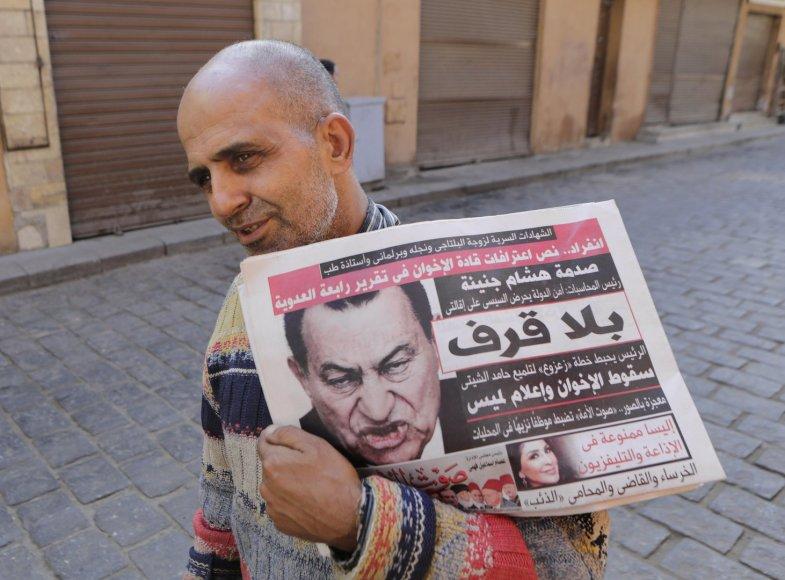 Panaikintas nuosprendis Hosniui Mubarakui
