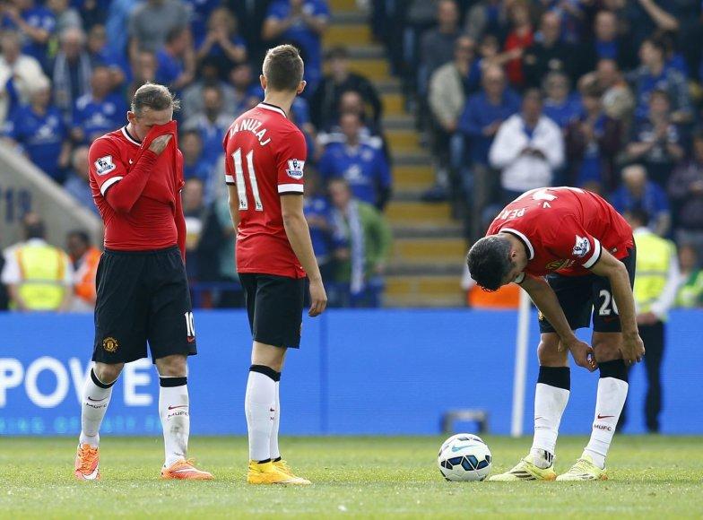 """""""Manchester Unidet"""" patyrė apmaudų pralaimėjimą"""